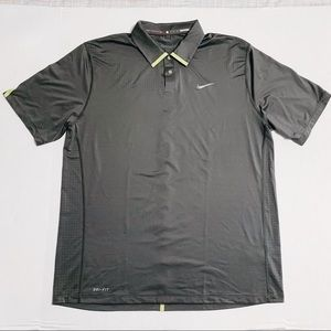 Nike Golf Tiger Woods Polo Gray/Gray Size L